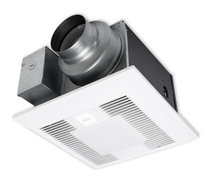 Panasonic WhisperGreen Select™ Ceiling Mount Fan and Light Preinstalled Multi Speed with Time Delay PANFV0511VKSL1