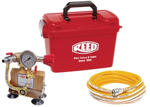 Reed Manufacturing 1.3 gpm Drill-Powered Hydrostatic Test Pump R08177
