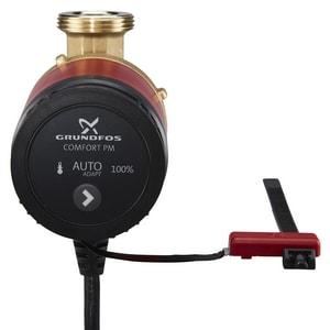 Grundfos 1/25 hp Comfort PM AutoAdapt Recirculation Pump 1/2 in. FNPT G98420223