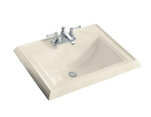 Kohler Memoirs® 1-Hole Drop-In Classic Lavatory Sink K2241-1