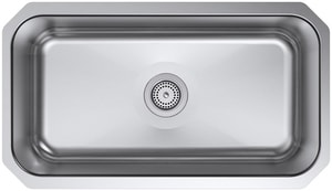 Kohler Undertone® 1-Bowl Undermount Kitchen Sink K5290-HCF-NA