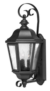 Hinkley Lighting 21 in. 40 W 3-Light Candelabra Lantern in Black H1670BK