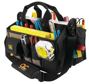 CLC Custom Leather Craft 16 in. Center Tray Tool Bag CLC1529
