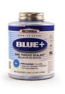 Rectorseal Blue+™ Non-Setting Pipe Thread Sealant REC313