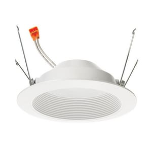 Juno Lighting Basics Series™ 5 in. 3000K LED Retrofit Baffle Trim J4RLD9306W