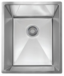 Franke Consumer Products Planar 8 1-Bowl Undermount Sink in Stainless Steel FPEX11014