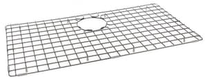 Franke Consumer Products Planar 8 Pex Coated Grid Design Basin Rack with Rear Drain Hole in Stainless Steel FPE31S