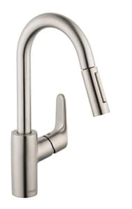 Hansgrohe 2.2 gpm Single-Handle Pull-Down Kitchen Faucet H04506
