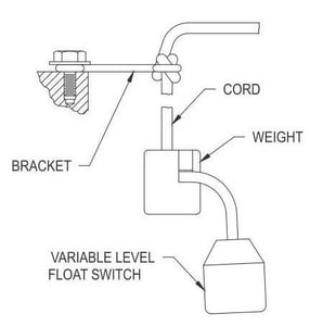 Zoeller 4 Level Float Switches Z100330
