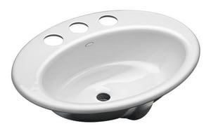 Kohler Thoreau® 1-Bowl Undermount Lavatory Sink K2907-8U