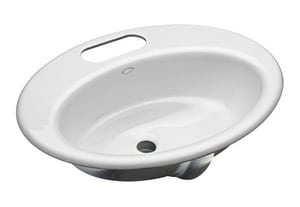 Kohler Thoreau® Lavatory Sink with 4 in. Centerset K2907-4U