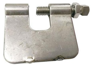 FNW Stainless Steel Clamp with Locknut FNW7201