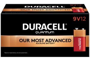 Duracell 9V Bulk Quantum Battery 12-Pack DQU1604BKD
