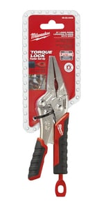 Milwaukee 6 in. Long Nose Locking Plier with Durable Grip M48223406