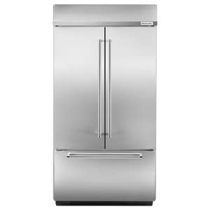 Kitchenaid 42-1/4 in. 24.2 cf Built-In French Door Refrigerator KKBFN402E