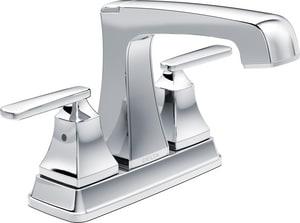 Delta Faucet Ashlyn® 1.5 gpm Double Lever Handle Centerset Lavatory Faucet D2564TPDST