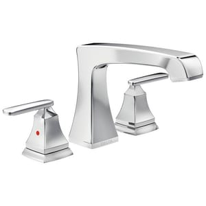 Delta Faucet Ashlyn® 18 gpm 3-Hole Roman Tub Trim with Double Lever Handle (Trim Only) DT2764