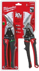 Milwaukee 2-Piece Offset Snip Set M48224023