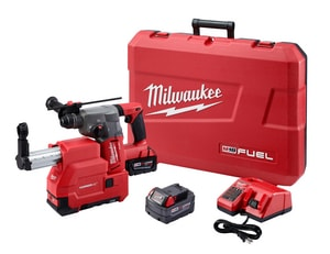 Milwaukee Fuel™ 12-4/5 in. Rotary Hammer and Extractor Kit M271522DE