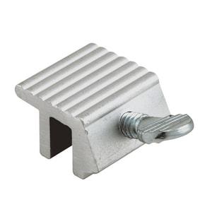 Primeline Products Slide Window and Door Chain Lock in Aluminum 4-Piece PMP4000