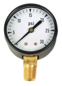 Kodiak Controls P683LT Hydrant Steam Thawer 1/8 in. Pressure Gauge KKC102D208C at Pollardwater
