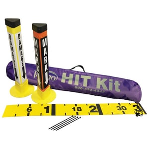 Repnet HIT KIT™ Hit Kit with Ruler in Yellow, Orange and Black RHK20ENG at Pollardwater