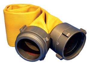 Hydro Flow Products Big Boy Hose Monster™ 4-1/2 x 4 in. Female x Male Threaded Test Hose HH45104 at Pollardwater