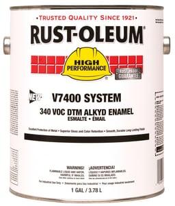 Rust-oleum V7400 System 1 Gallon Hydrant Enamel Paint in Aluminum R245309 at Pollardwater