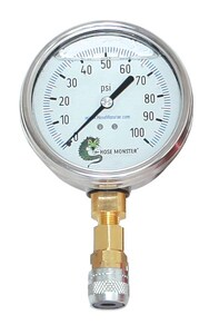 Hydro Flow Products 200 psi Pressure Gauge HGK200D4 at Pollardwater