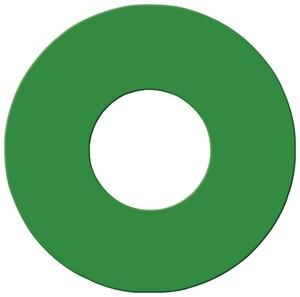 Pollardwater Hydrant Disk in Hi-Viz Green PP68582