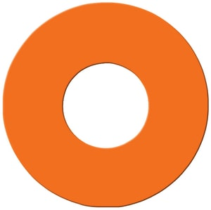Pollardwater 2-1/2 in. Hydrant Disk in Hi-Viz Orange PP68584 at Pollardwater