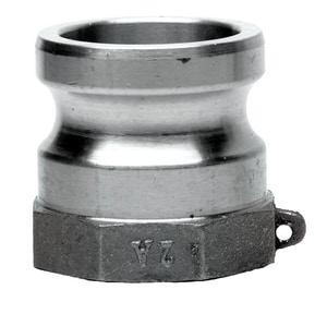 Ever-Tite Coupling Products Male Adapter x Female Threaded Aluminum Coupling E3EAAL