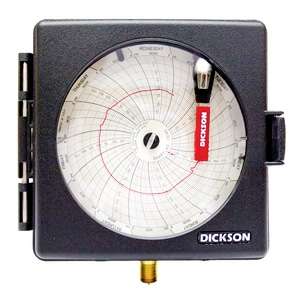 Dickson Company 200 psi 200 psi Pressure Chart Recorder PPW474 at Pollardwater