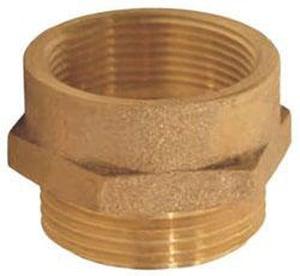 Dixon Valve & Coupling 4 x 4-1/2 in. FNPT Cast Brass Nipple DFM4045F at Pollardwater