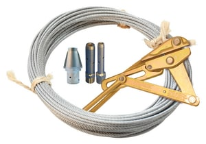 Pipeline Products Water Line Replacement Kit with Pulling Cable PWW500