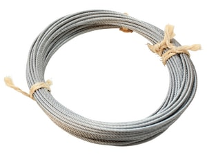 Footage Tools 75 ft. x 1/8 in. Aircraft Cable FF090754 at Pollardwater
