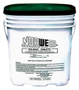 Norwalk Wastewater Equipment Bio-Max® 48 lb. Dechlorination Tablet NBM48 at Pollardwater