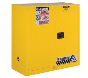Justrite Manufacturing 30 gal Classic Manual Close Safety Cabinet JUS893000 at Pollardwater