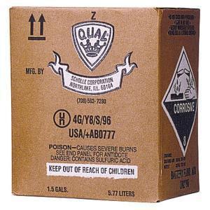 Glentronics 6 qt. Battery Acid Pack for Glentronics B1000 and B2200 Batteries GZPACK