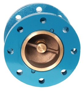 GA Industries 4 in. Cast Iron Flanged Check Valve G280DP at Pollardwater