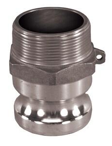 Adapter x MNPT Aluminum Cam Lock Coupling AQFDC