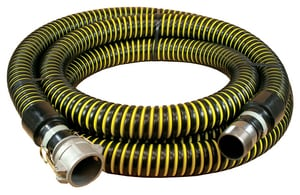 Abbott Rubber Co Inc 20 ft. x 3 in. Male NPSM and Female Quick Connect Crushproof Suction Hose A1230300020CN at Pollardwater