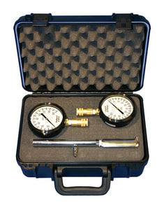 Pollardwater 3-1/2 in. Pitot with Gauge with Case PP6595