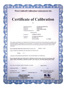 Hydro Flow Products Gauge Calibration Fee for New Gauges Only NIST Certificate included HGK100D4 HGK60D4 HGK100D4 HGK160D4 HGK200D4 HGKBBD4 HGCCN at Pollardwater