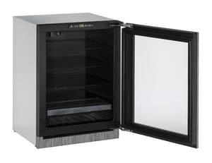 U-Line 2000 Series Built-In Glass Door Refrigerator UU2224RGL01A