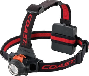 Coast Cutlery HL27 330 Lumens LED Plastic Focusing Headlamp C19722