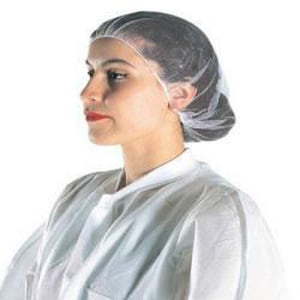Cellucap Nylon Hairnet in White (Case of 1440) CHN2WT