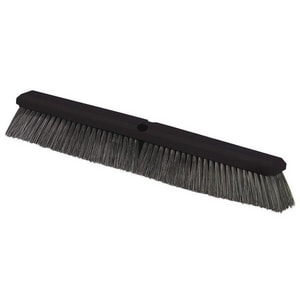 Carlisle Foodservice Flo-Pac® 24 in. Polypropylene Fine Medium Floor Sweep in Black C362208P2403