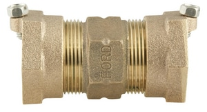 Ford Meter Box Pack Joint Brass Coupling FC55