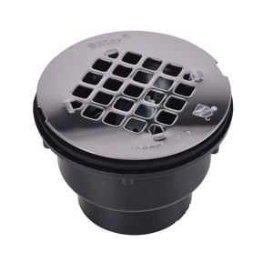 Oatey ABS Shower Drain with Stainless Steel Strainer O42044